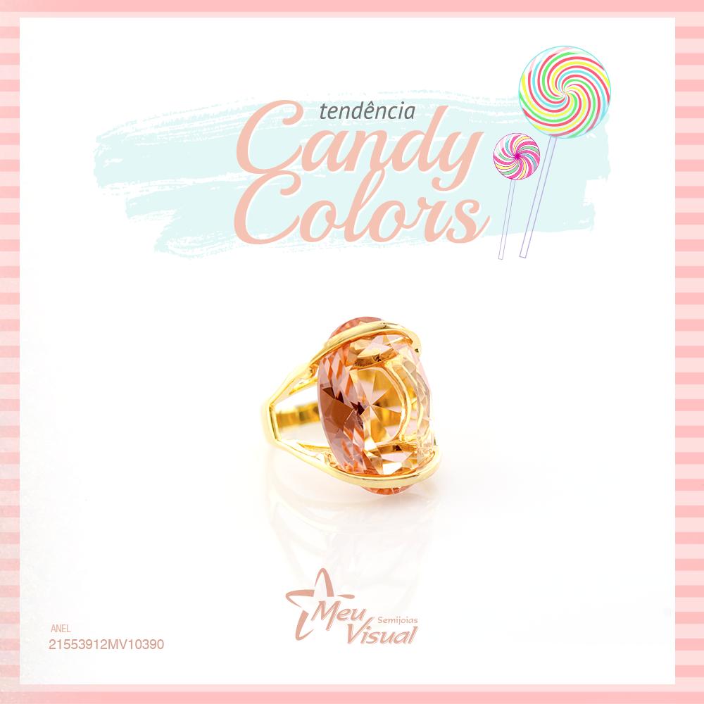A tendência das Candy Colors
